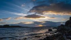 sunset@pano (fabian.huesser) Tags: landscape landschaft sunset sonnenuntergang wolken cloudy sky seascape longexposure langzeitbelichtung panorama panoramic water night nacht nature