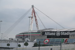 Torino, the Allianz Stadium / Juventus Stadium (Sokleine) Tags: stadium stade allianz football foot juventus architecture contemporary torino turin italia italy italie eu europe