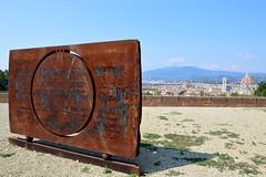 GONG - Eliseo Mattiacci (carlogalletti) Tags: mattiacci firenze forte belvedere san miniato florence italia italy panorama scultura moderna arte