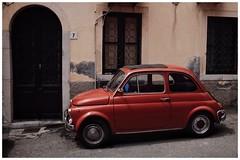 Fiat Cinquecento. Taormina, Sicily (Pauls Pixels) Tags: flickr 1000 allcontent