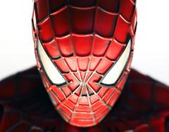 Spiderman is always hungry! (Engin Süzen) Tags: linesymmetry macro macrophotopraphy macromondays toys toy actionfigure marvel spiderman portrait m43 m43turkiye olympusem1markii olympus olympusomdem1markii