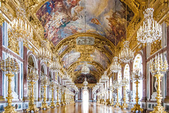 """The """"Bavarian Versailles"""" (werner boehm *) Tags: wernerboehm spiegelsal herrenchiemsee neuesschloss königludwigii interior architecture"""