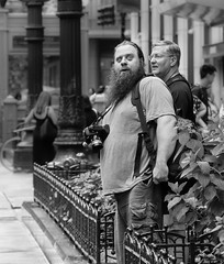 Chicago Street Photography.. (Kevin Povenz Thanks for all the views and comments) Tags: 2018 july kevinpovenz illinios chicago windycity street streetphotography streetportrait portrait male men boy boys guys candid canon7dmarkii sigma24105art beard blackandwhite bw