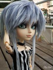A cabeleira de Battler (♪Bell♫) Tags: taeyang albireo battler garth weiss fur wig groove doll