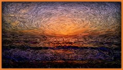 Expressionist of SunRise Upon the East Coast 4 (jlynfriend) Tags: phonephoto lg art artwork expressionistic ocean beach sunrise seascape seaview clouds sky skyview skyscape water color