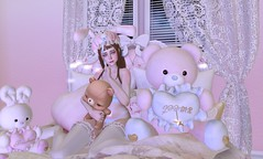 Sleepy Time (Normajean Rae) Tags: bonbon insol mishmish moonamore moonelixir mudskin nani pinkfuel plastik s0ng thewhitecrow {konpeitou} aii second life fashion kawaii cute