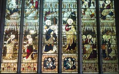 [64575] St Denys, Sleaford : North Transept Window (Budby) Tags: sleaford lincolnshire church window stainedglass