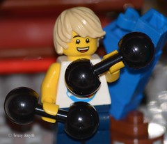 Gym member (217/365) (Tas1927) Tags: 365the2018edition 3652018 day217365 05aug18 lego minifig minifigure