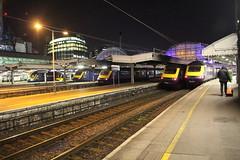 HST Line Up 43191 43131 43124 43152 43034 (matty10120) Tags: class railway rail train travel transport hst high speed 125 43 great western 332 heathrow express london paddington