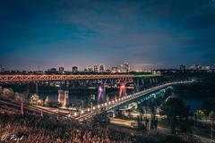d7200 28-80-2382 (Redffury) Tags: city cityscape edmonton canada cityview night nightphotography longexposure