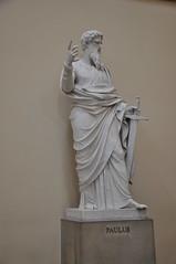 Paul (Ryan Hadley) Tags: paul apostles bertelthorvaldsen statue sculpture art church vorfruekirke copenhagen denmark europe