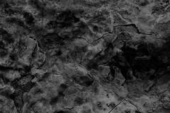 Dark (gripspix (OFF)) Tags: 20180624 rock steine texture textur keuper mesozoic mesozoikum erdmittelalter oberfläche surface constructionarea baustelle sulz germany deutschland cracks risse processed bearbeitung