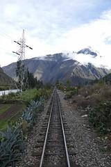 on the way / track to Machu Picchu Peru (roli_b) Tags: mt mount veronica perurail rail railway track schiene way machu picchu machupicchu ollantaytambo train tren peru valle sagrado vallesagrado 2018 travel viajar turismo tourism