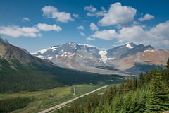 On The Wilcox Pass Trail [Explored] (luke.me.up) Tags: nikon d850 landscape mountains glaciers road forest trees icefields alberta canada
