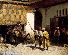 The arab gunsmith by Edwin Lord Weeks (skaradogan) Tags: orientalism orientalisme painting algeria algerie north africa maghreb peinture