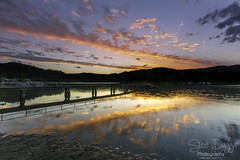 0S1A9771 (Steve Daggar) Tags: sunset woywoy reflection reflections wharf jetty nswcentralcoast