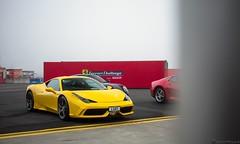 YELLOW (Richard Nico) Tags: ferrari 458speciale 458 ferrari458 v8 supercar sportcar exotic luxury car carphotography automobile automotive photography ferrarichallenge