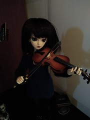 Rock is not only for bad boys! (luxatica) Tags: minifee fairyland doll bjd mnf rock metal music shushu mnfshushu minifeeshushu