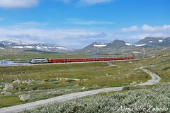 NSB: EL18 2259, Finse (N) (Alexandre Zanello) Tags: el18 slm abb ad tranz nsb norges statsbaner regiontog bergen oslo bergensbanen finse haugastøl lok2000