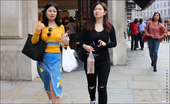`2366 (roll the dice) Tags: london westminster westend w1 shops shopping hot sunny weather people bargain fashion streetphotography sexy pretty girls canon tourism tourists sad mad smile fun funny happy england uk art classic urbanunaware unknown portrait strangers candid busy crowd sunglasses blur bra ripped asian chinese finger eyes surreal water thumb yellow