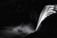 Blurred Nirvana, Skogafoss Waterfall, Iceland (S.A.W. Pixels) Tags: artistic amazing arts black white canon art iceland dramatic dark darkclouds drama distinguishedlongexposure excellent exposure exciting explore explored exposed flickr greatphotographers interesting impressive landscape landscapes monochrome outdoor observing outside overcast picture panaromic photo syedaliwarda sea sky mountain ocean water longexposure longexposureshot longexposures waterfalls rock waterfall skogafoss mist ngc