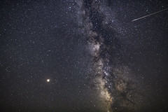 Perseid Meteor Shower in Death Valley (Geoffrey Hunt Photography) Tags: sky stars astrophotography night desert meteor perseids milkyway milky way long exposure california death valley mars