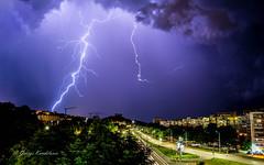 Lightning (GeorgeMMB) Tags: longexposure night weather varna bulgaria lightning nightphotography lightningstrike lightningbolt lightningstorm