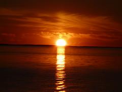 sunset Flyvesandet Fünen DK (achatphoenix) Tags: flyvesandet flyvesandetbeach sunset sun coucherdusoleil sonnenuntergang beach strand water waterscape wasser sea ocean july eveningsun