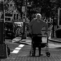 """Her Face Radiated Struggle And The Solemn Beauty Of An Intrinsic Dignity"", Martin Luther King Jr. Avenue, Historic Anacostia, Washington, DC (Gerald L. Campbell) Tags: streetphotography street squareformat spirituality spiritualindifference socialdocumentary alienation aloneness bw blackwhite citylife community canonsx60hs dc digital freedom historicanacostia indifference inequality injustice love life mamiya6 portrait portraitphotography urban martinlutherkingjravenue urbanphotography unitedstates washingtondc yearning yeswecan"