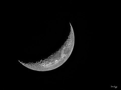Long time no moon (Daniel Y. Go) Tags: d900 lunar moon nikon nikond900 philippines superzoom astrophotography night sky
