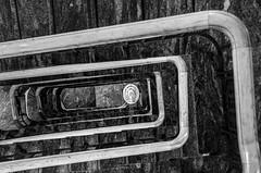 rectangular spiral (Blende1.8) Tags: stair staircase stairs stairwell treppe treppenhaus hamburg spiral mono monochrome monochrom interior architecture architektur indoor step steps stufe stufen ahndlauf banister textur texture schwarzweis black white