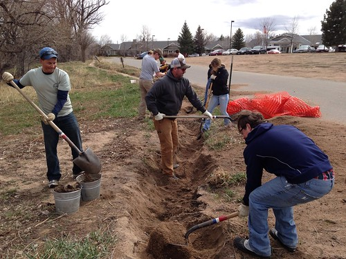 Photo - CU Boulder Engineers without Borders Restoration Project