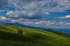 Luci e ombre... (paolo-p) Tags: montagna mountain nuvole clouds linee lines ombre shadows joanaz masarolis torreano faedis canebola