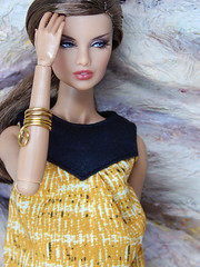 "Boho Days – the ""Zoe"" top (Levitation_inc.) Tags: ooak doll dolls clothes handmade fashion fashions royalty nuface integrity toys levitationfashion etsy barbie barbiestyle poppy parker summer boho 2018"