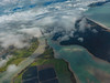 Above the Clouds (Steve Taylor (Photography)) Tags: estuary river newzealand nz southisland pacific ocean waves trees spring cloud