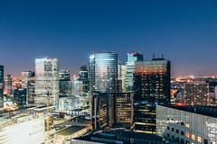 La Defense (Sth4n) Tags: ladefense cityscape canon paris courbevoie grue building