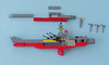 Space Battleship Yamato instructions 08 (Tino Poutiainen) Tags: lego legomoc legobuild blazers scale instructions scifi ship space star stand yamato photography photograph picture anime japan