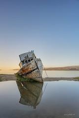 Point Reyes Shipwreck (AkDExplorer) Tags: pointreyes shipwreck bayarea california nikon d850 laowa 15mm gnd cpl hoya acratech slowshutter reflection