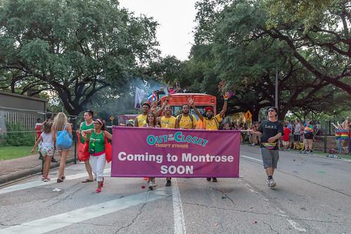 Houston Pride Night Parade 2018