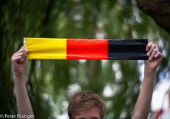 What? No Orange? (Peter Branger) Tags: smileonsaturday footballfever football portrait germany belgium flag canoneos5d lomography newpetzval worldcup fifa bokeh