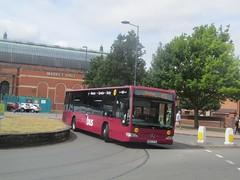 Yourbus 3027 BK13XYD Albert St, Derby on Y3 (1280x960) (dearingbuspix) Tags: yourbus bk13xyd y3 3027