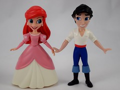 Ariel and Friends Action Figure Set - Hasbro Disney Princess Comics Collection - Target Purchase - Deboxed - Ariel and Eric Free Standing - Full Front View (drj1828) Tags: hasbro amymebberson poseable comic disney princess figures 5inch ariel purchase target eric thelittlemermaid deboxed freestanding