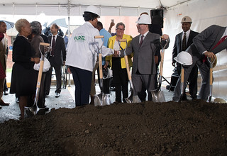 June 22, 2018 MMB Breaks Ground on 71 Affordable Apartments in Transit-Oriented Mount Vernon Triangle