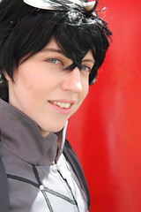 The Protagonist from Persona 5 - Close Up (NekoJoe) Tags: amecon amecon2018 ame ame2018 animeconvention astrallocke closeup convention cosplay cosplayer coventry england gb gbr geo:lat=5237793820 geo:lon=156064332 geotagged midlands persona5 theprotagonist uk unitedkingdom warwickartscentre