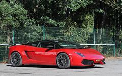 Lamborghini Gallardo LP 560-4. (Tom Daem) Tags: lamborghini gallardo lp 5604 bicolore amg gt spa francorchamps 24 hours