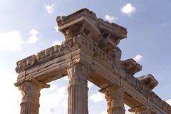 Temple of Apollo, AD II (Side, Turkey) (Ella Ca) Tags: ancient roman temple apollo templeofapollo side asiaminor architecture ruins