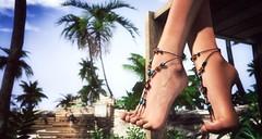 It's great ! (VeraCruza) Tags: marinabay eveadam foot feet maitreya slink jewel summer sandal fashion virtualworld secondlife