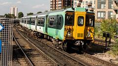 455825 (JOHN BRACE) Tags: 1982 brel york built class 455 emu 455825 seen east croydon station southern livery