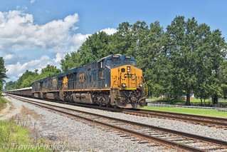 CSX W251-09 at CP South End Lilesville