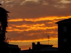 A new morning is begun. Milano (diegoavanzi) Tags: milano milan italia italy nuvole clouds supercell cielo sky sony hx300 bridge alba sunrise